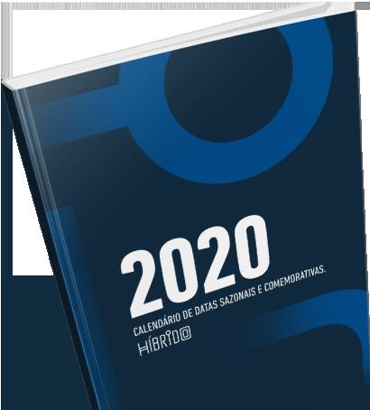 Calendário 2020 para planejamento no ecommerce